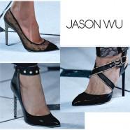 Jason Wu обувь лето 2013: акценты и печать