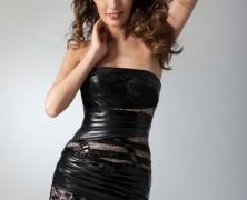 Черное вечернее платье для подростков
