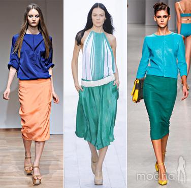 Сочетание цвета в одежде Фото